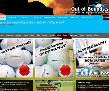 Prisvärda golfbollar och golftillbehör