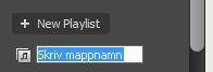 """Skapa mappar och """"öppna"""" spellistor i Spotify"""