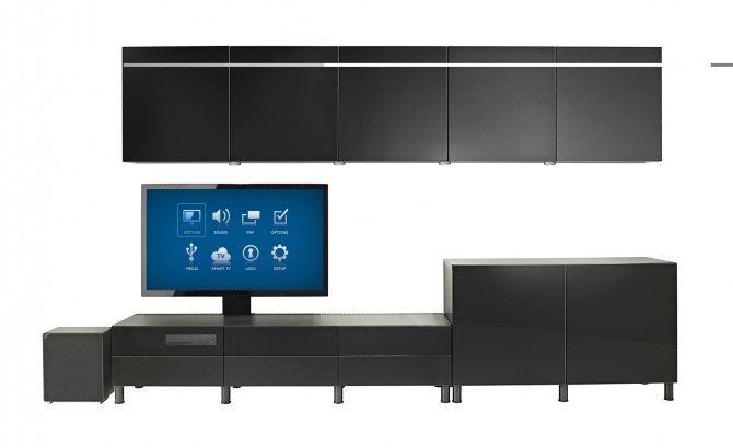 ikea uppleva m bel tv och ljud i ett mattias lundquist. Black Bedroom Furniture Sets. Home Design Ideas