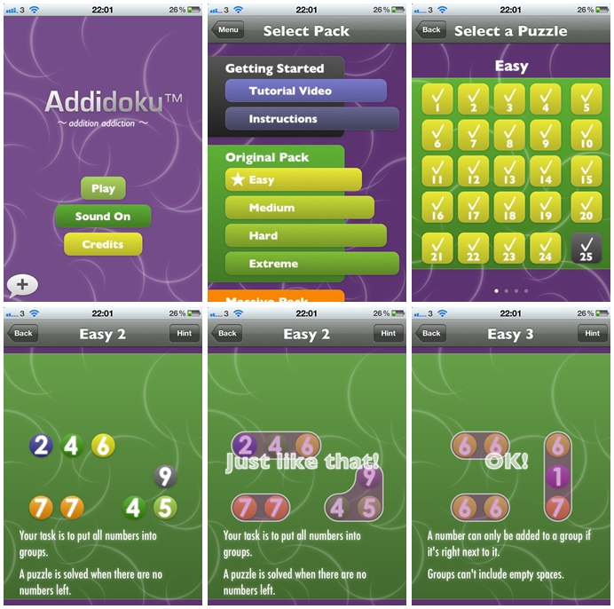Addidoku Puzzle Game